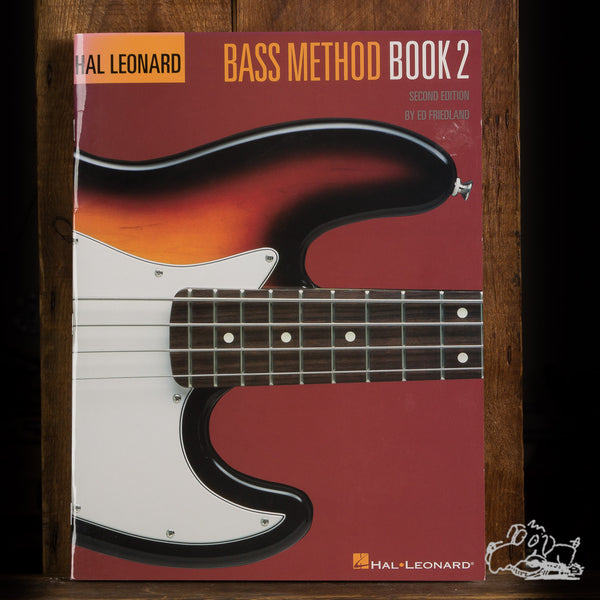 Hal Leonard Bass Method Book 2
