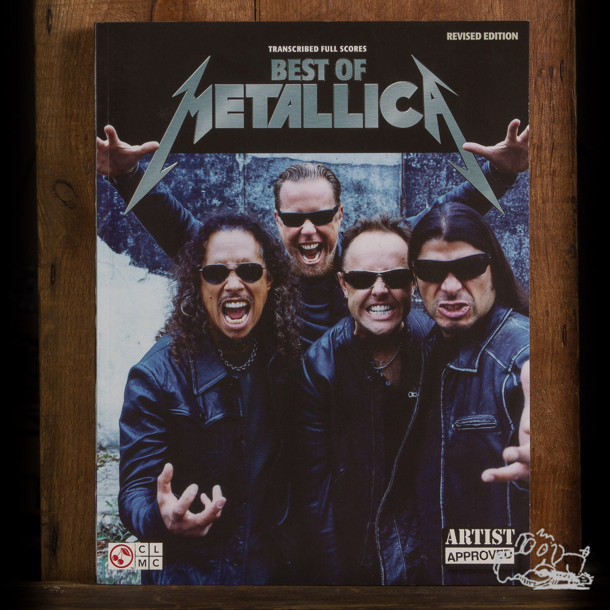 Best of Metallica - Revised Edition; Transcribed Full Scores