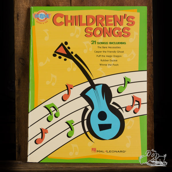 Children's Songs for Fingerstyle Guitar