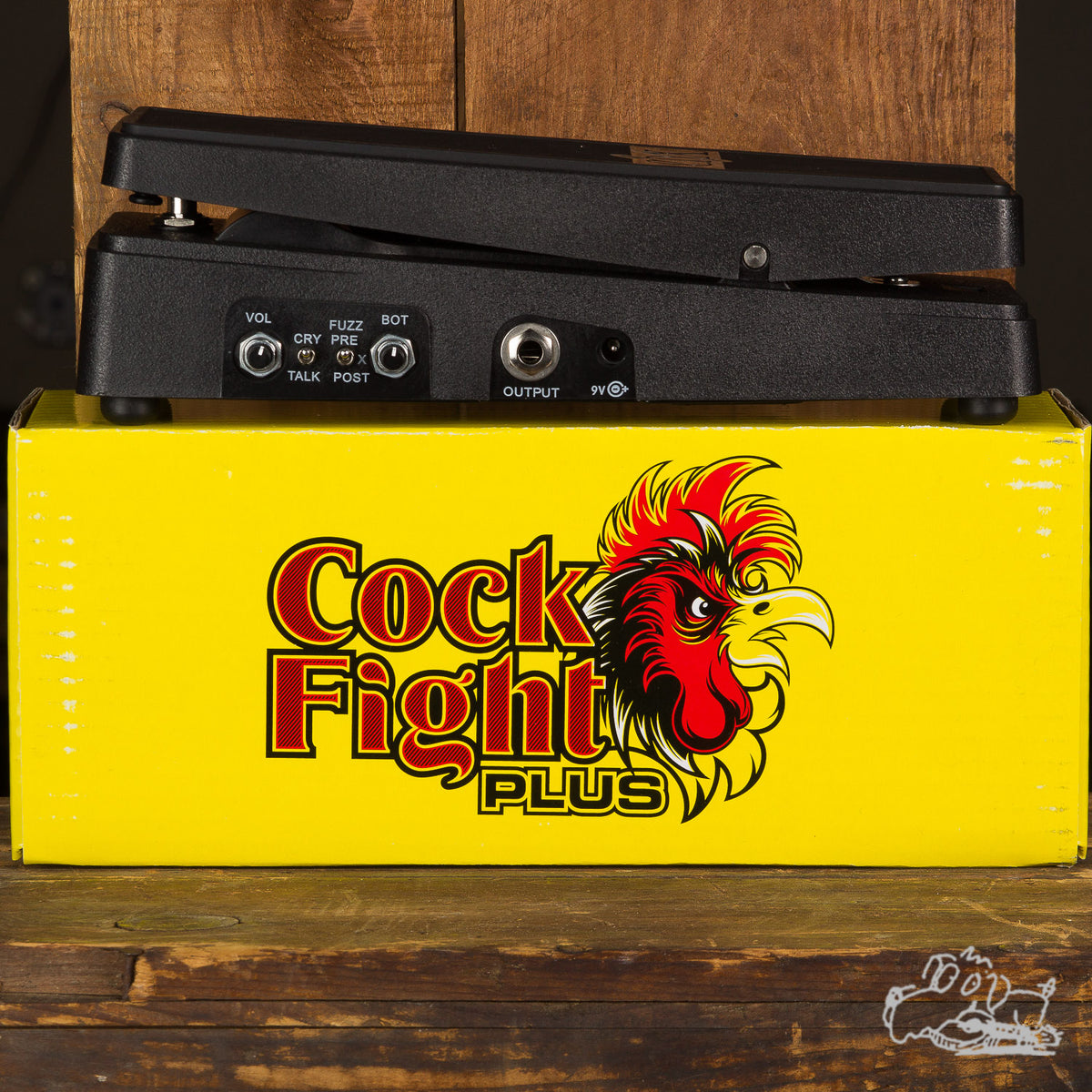 Electro-Harmonix Cock Fight Plus Talking Wah and Fuzz