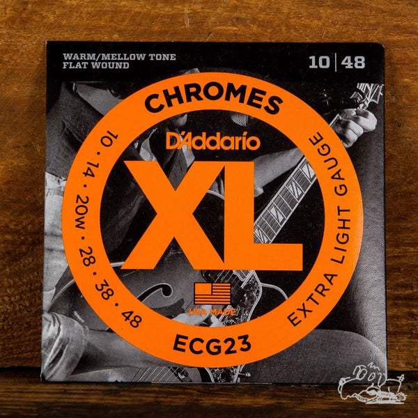 D'Addario Chromes Extra Light 10-48