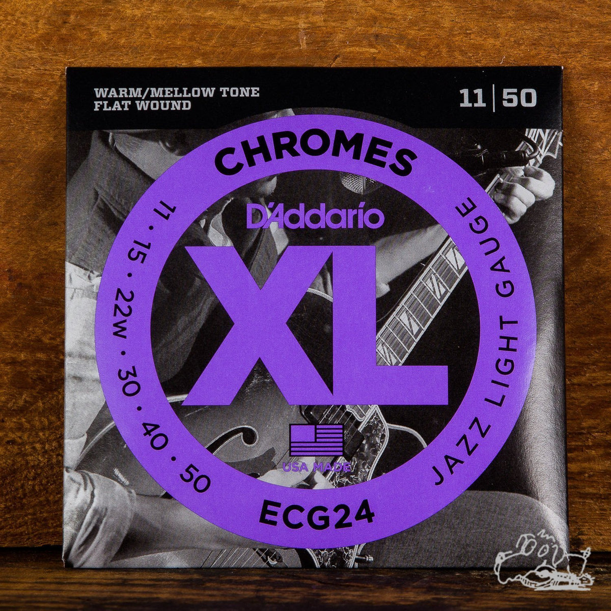 D'Addario Chromes Jazz Light 11-50
