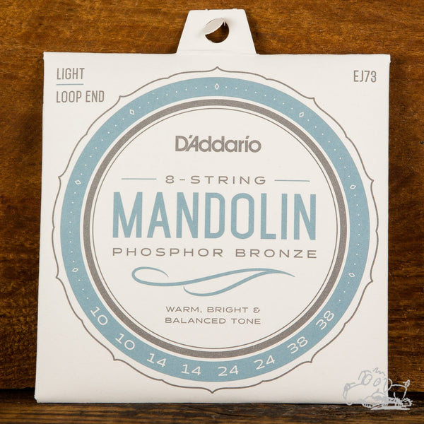 D'Addario Mandolin Strings Loop End