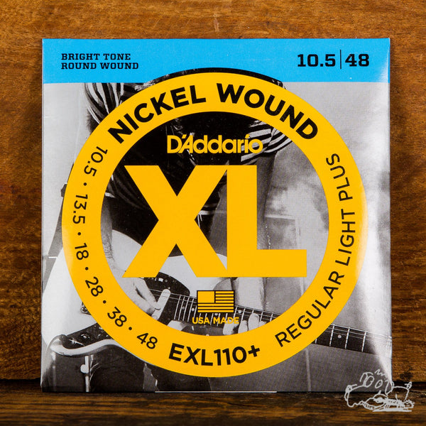 D'Addario XL Electric Guitar Strings Nickel Wound Light Plus 10.5-48