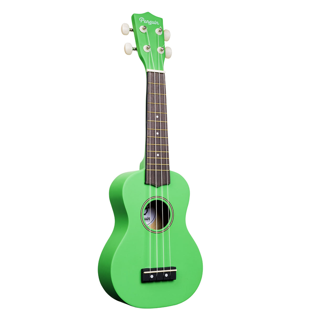 Penguin Solid Color Soprano Ukuleles