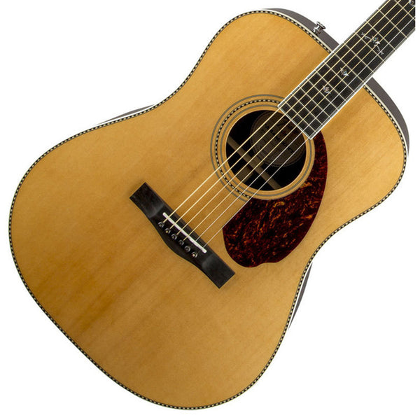 PM-1 Deluxe Dreadnought, Natural - Garrett Park Guitars  - 1