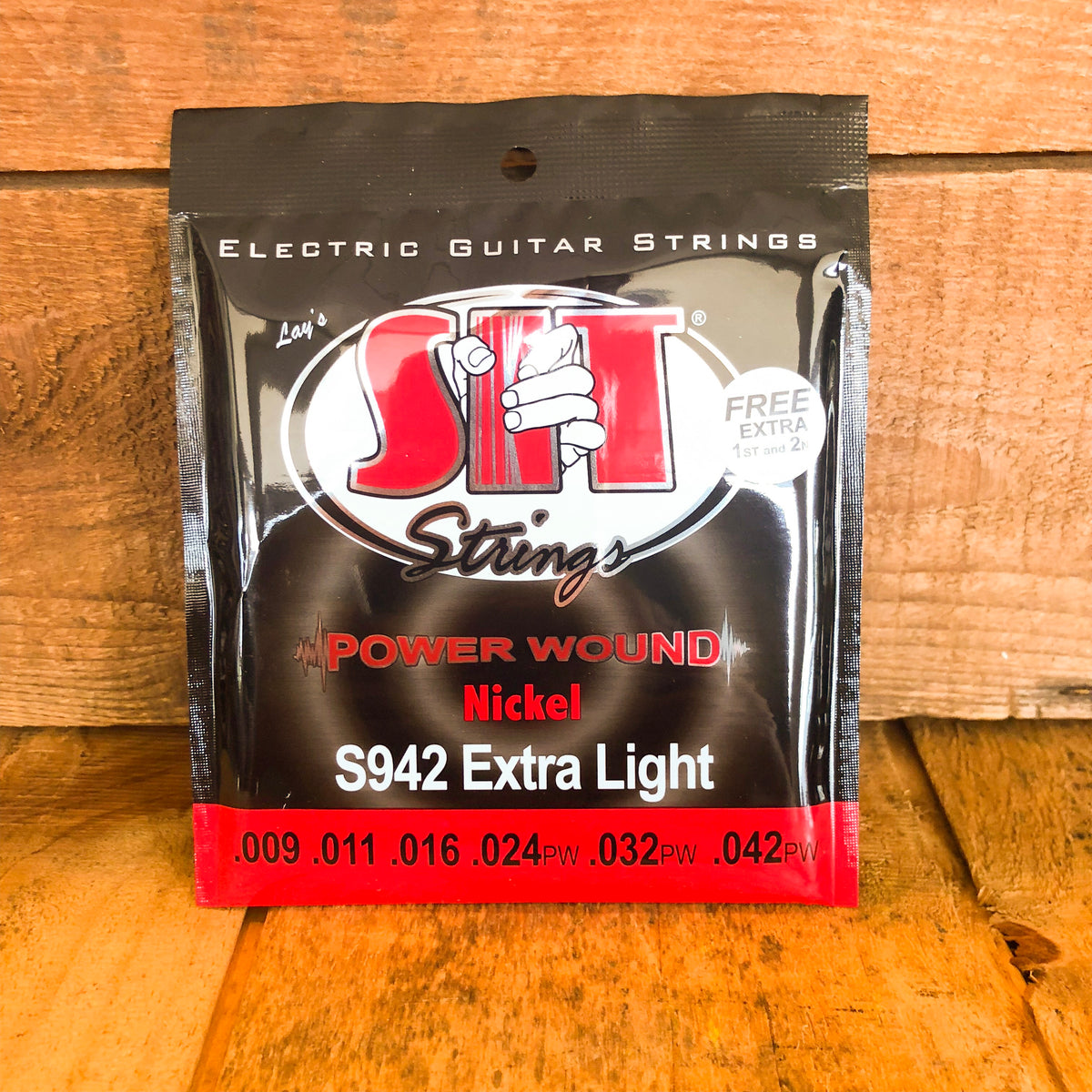 S.I.T. Power Wound Electric Guitar Strings
