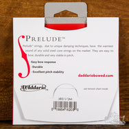 D'Addario Prelude Violin Strings 1/2 Scale Length Solid Steel Core