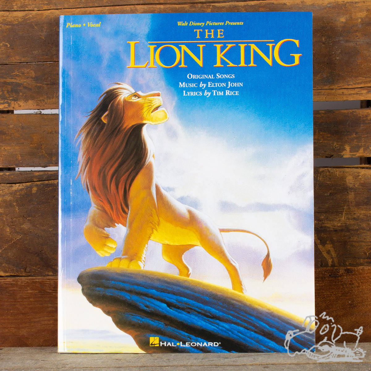 Hal Leonard The Lion King Piano Songbook