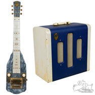 1952 Bronson Lap Steel and matching 1952 Bronson Amp