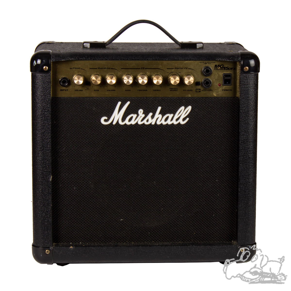 Marshall MGD15X Solid State Guitar Amplifier (Used)