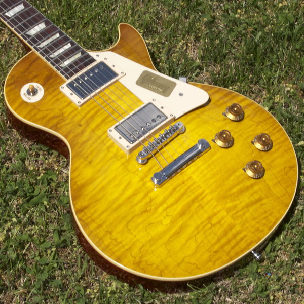 2014 Gibson Les Paul R9 Lemon Burst - Garrett Park Guitars  - 3
