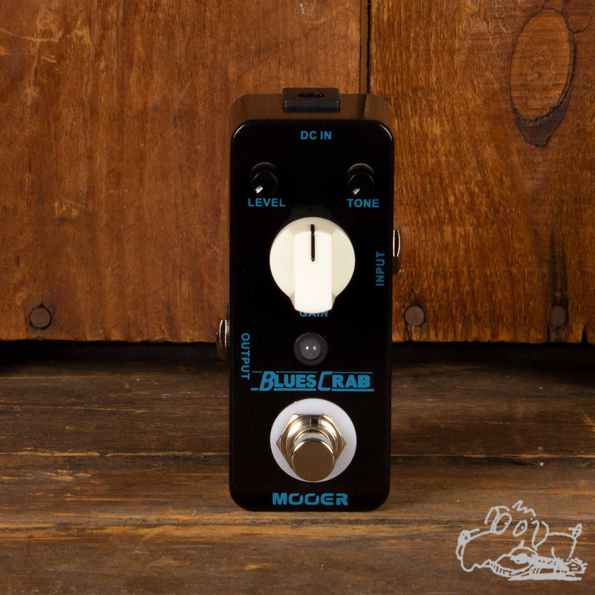 Mooer Blues Crab Overdrive Pedal