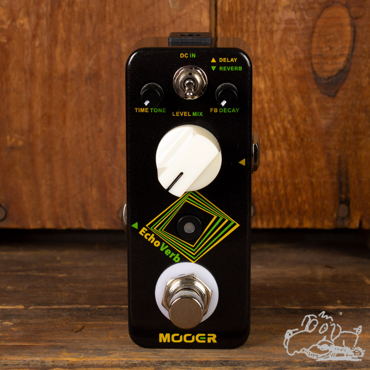 Mooer Echo Verb True Bypass Reverb & Delay Pedal