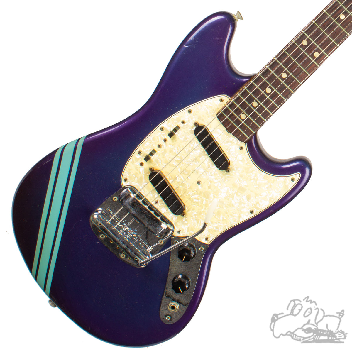 1968 Competition Blue Fender Mustang
