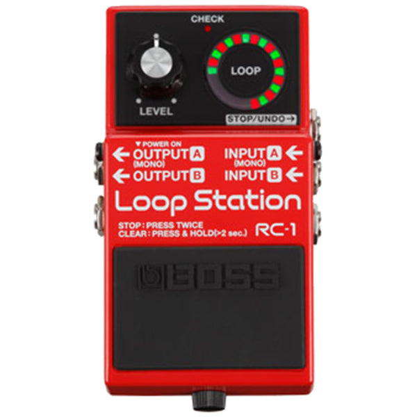 Boss RC-1 Loop Station - Garrett Park Guitars
