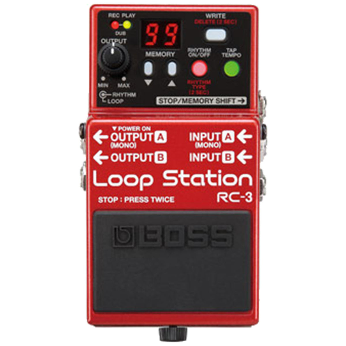Boss RC-3 Loop Station - Garrett Park Guitars