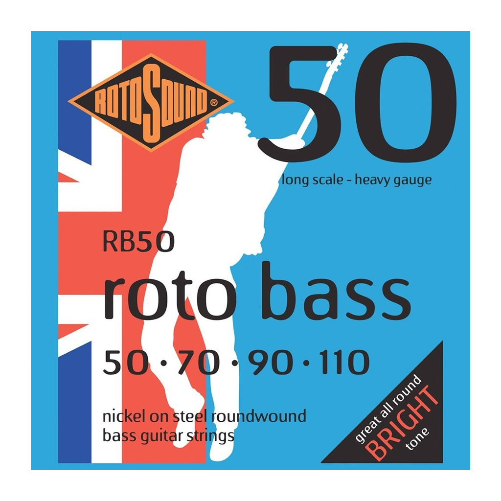 Rotosound RB50 Nickel-wound Roundwound Bass Strings