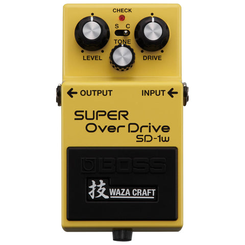 Boss SD-1W SUPER OverDrive - Garrett Park Guitars