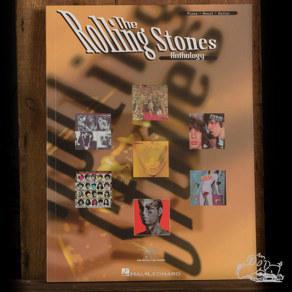 The Rolling Stones Anthology Piano/Vocal/Guitar