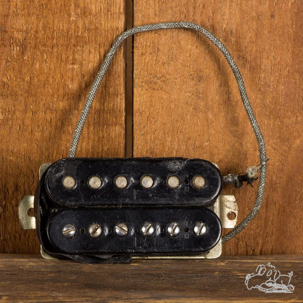 1970s Gibson T top  Patent Number Humbucking Pickup