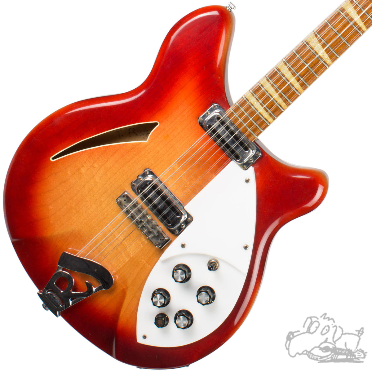 1966 Rickenbacker 360/12 Electric Guitar