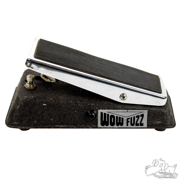 Side View of Wow Fuzz Pedal