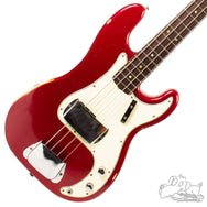 1966 Fender Precision Bass Candy Apple Red