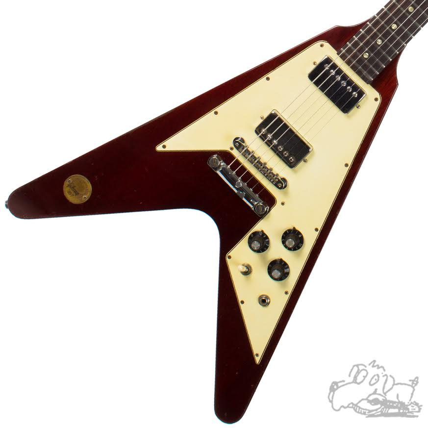 1971 Gibson Flying V Limited Edition Medallion #187