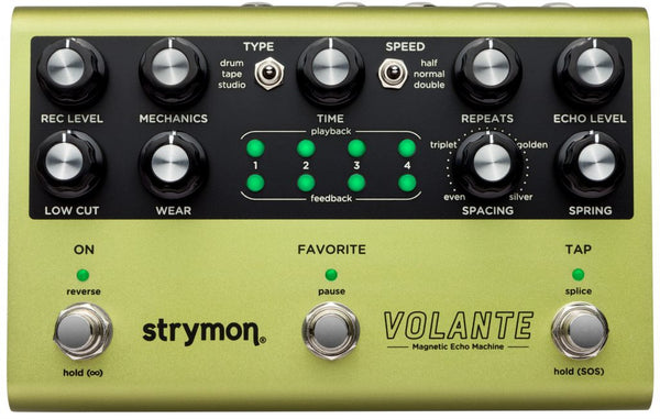 Strymon Volante |  Pre-Order |  Delay (Drum, Tape, Reel-toReel, Looper, and more!)