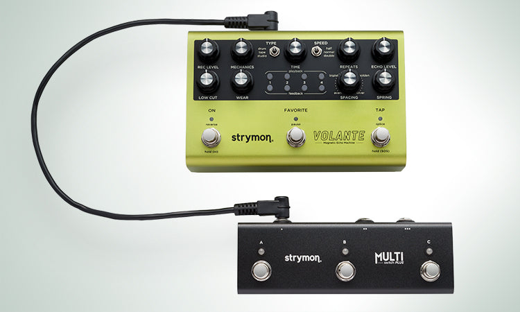 Strymon Volante |  Delay (Drum, Tape, Reel-to-Reel, Looper, and more!)