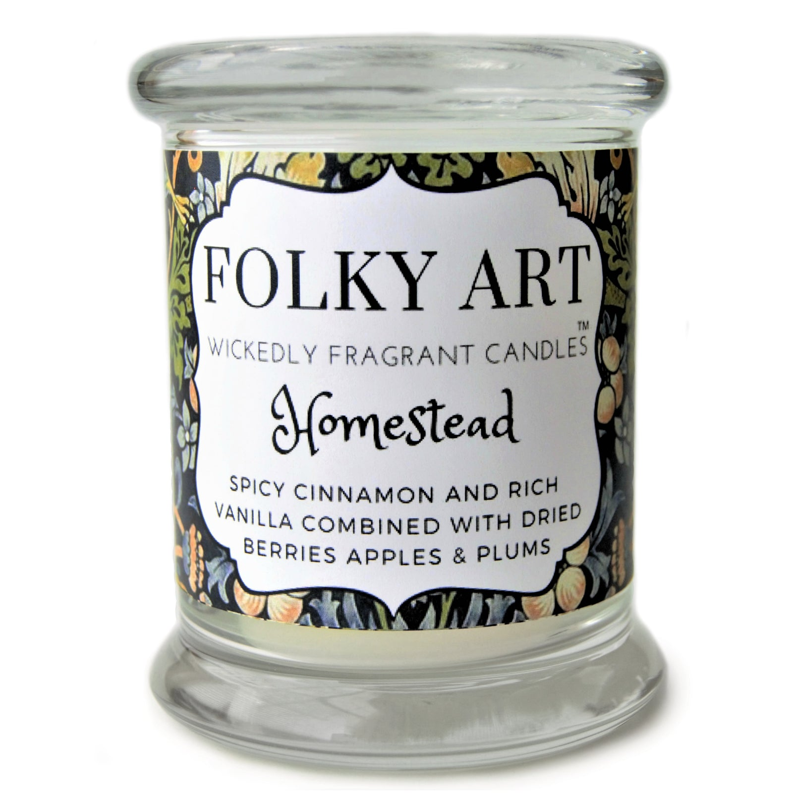 Homestead Jar Candle picture - Folky Art Candles