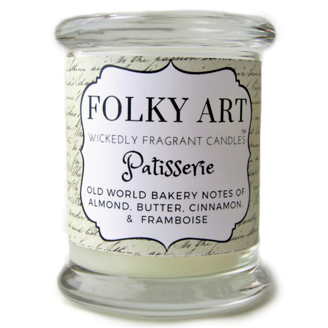 Patisserie candle picture Folky Art Candles