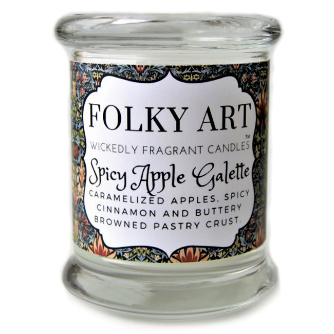 Spicy Apple Galette Jar Candle