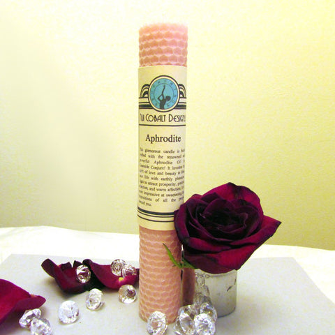 Aphrodite Enchanted Candle