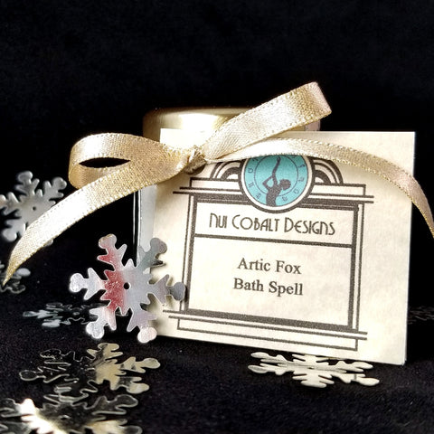 Arctic Fox Bath Spell (Stocking Stuffer Size)