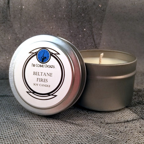 Beltane Fires Soy Candle