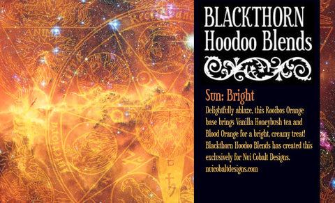 Blackthorn Hoodoo Blends: Sun: Bright - Nui Cobalt Designs