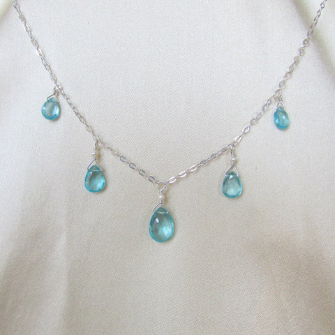 Caribbean Sky Necklace