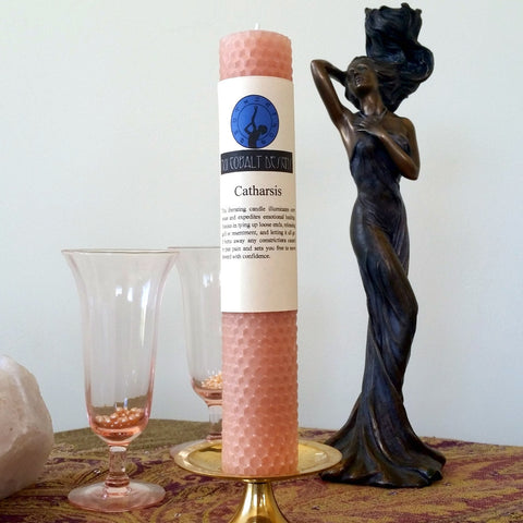 Catharsis Enchanted Candle - Nui Cobalt Designs