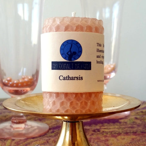 Catharsis Mini Candle - Nui Cobalt Designs