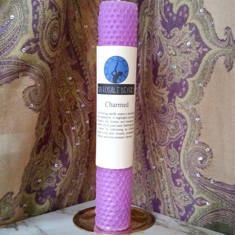 Charmed Enchanted Candle - Nui Cobalt Designs