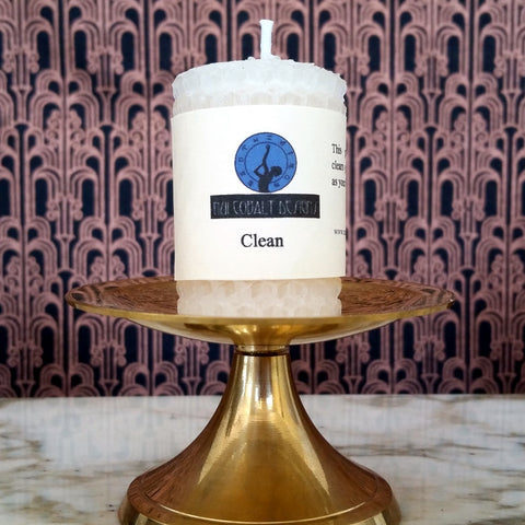 Clean Mini Candle - Nui Cobalt Designs