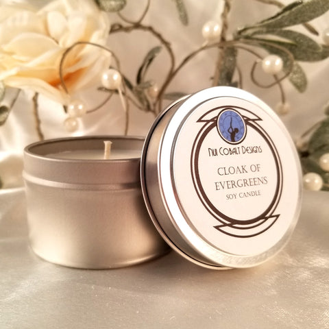 Cloak of Evergreens Soy Candle