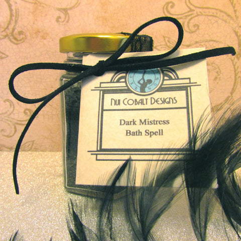 Dark Mistress Bath Spell
