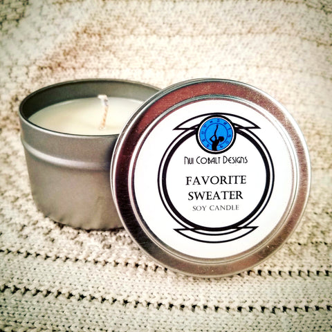 Favorite Sweater Soy Candle