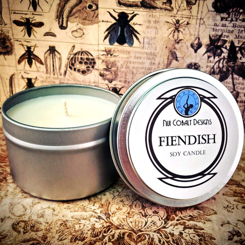 Fiendish Soy Candle