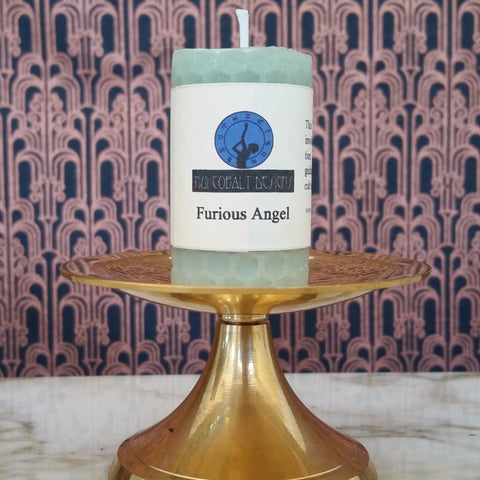 Furious Angel Mini Candle - Nui Cobalt Designs