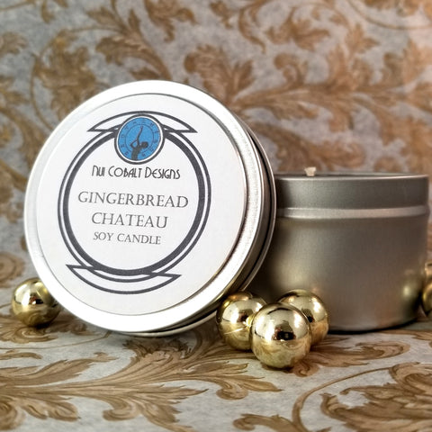 Gingerbread Chateau Soy Candle