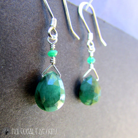 Green Tara's Earrings - Nui Cobalt Designs - 1